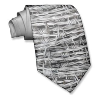 Rustic Barbed Wire Tie