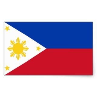 Philippines Flag Sticker