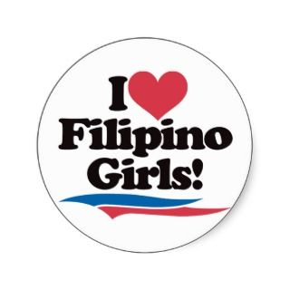Love Filipino Girls Sticker
