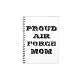 Noebook Proud Air Force Mom