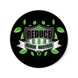 Recycle Shield Sticker