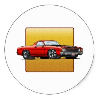 71 El Camino Sticker