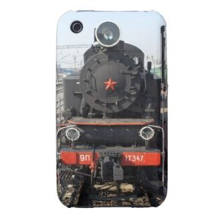 Russian steam locomotive 9P 17347. Built in 1953 iPhone 3 Case Mate