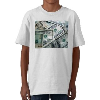 Money Hundred Dollar Bills Shirts