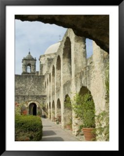 Mission San Jose, San Antonio, Texas, USA Pre made Frame