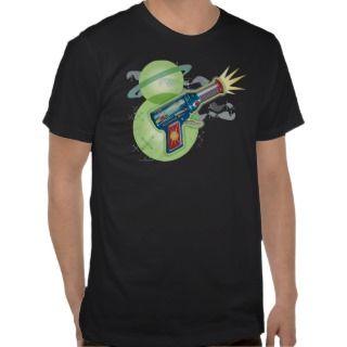 Space Age Ray Gun T Shirt