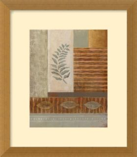 Broad Leaf Framed Fine Art Print