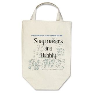 Soap Bubbles canvas tote bag