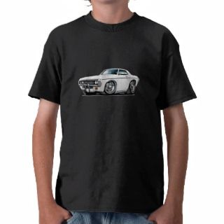 1969 Impala White Car Tee Shirts