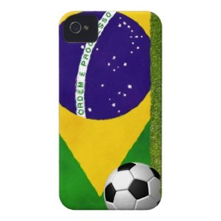 Brazilian Futbol   Soccer iPhone 4 Cases