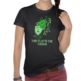 COMEDY & TRAGEDY DRAMA MASKS THE PLAYS THE THING SHIRT