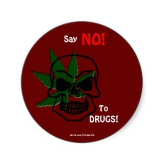 Anti Drug Campaign Promotional Stickers