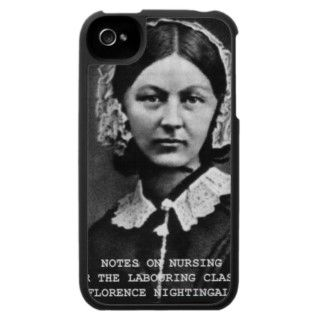 Vintage Florence Nightingale Portrait Nursing iPhone 4 Cases