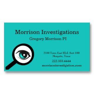 private investigator business plan