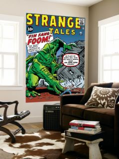 Journey Into Mystery #62 Cover: Fin Fang Foom Laminated Oversized Art by Jack Kirby
