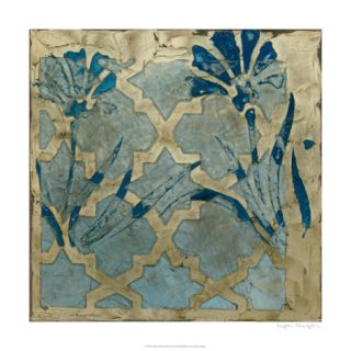 Stained Glass Indigo II Limited Edition by Megan Meagher