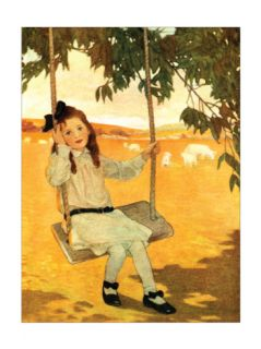 Seven Times One Print by Jessie Wilcox Smith