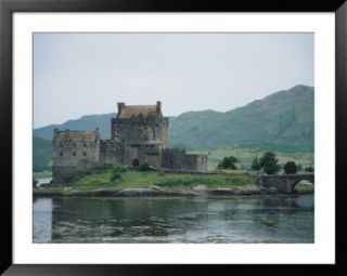 Eilean Donan Castle, West Coast, Scotland Pre made Frame