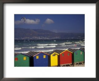 Colorful Bathing Boxes, South Africa Pre made Frame