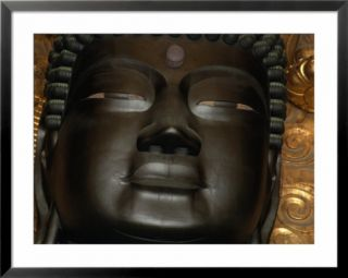 Detail Of Daibutsu (Great Buddha) Statue, In Daibutsu Den Hall Of Todai Ji Temple, Nara, Japan Pre made Frame