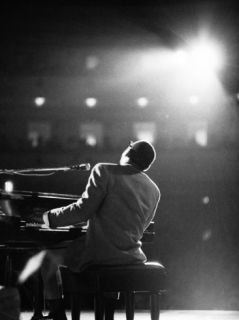 Ray Charles Premium Photographic Print by Bill Ray
