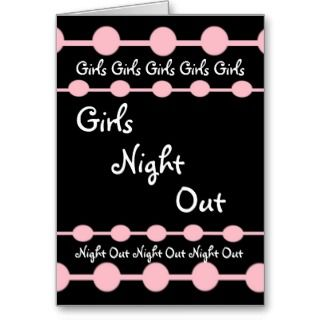 PARTY   GIrls Night Out with Pink Puffballs Mouse Pad