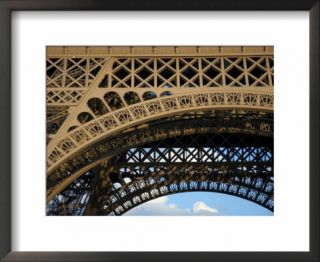 Close View Detail of the Cast Iron Eiffel Tower Pre made Frame