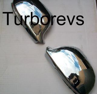 AUDI A4 S4 B8 2008 ON CHROME MIRROR COVERS CAPS COVER