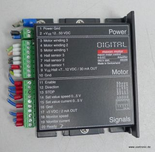 PV816 Maxon Motor Control 4 Q EC DECV 50/5 305259