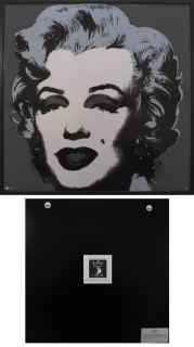 Andy Warhol   Marilyn grau schwarz   Rosenthal   Wandbild