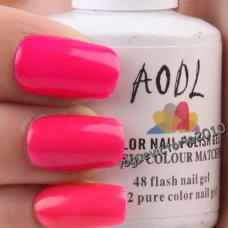 15ml Neon Color Gel Soak off Gel Nagellack Farbgel UV Gel Nail Art #5