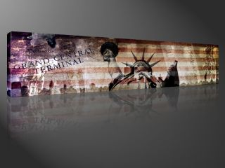 UNITED STATES 120x30cm NEW YORK CITY COLLAGE #e2010