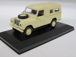 Land Rover Series III 109   UH 1/43 (cochesaescala)