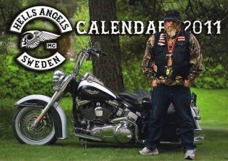 HELLS ANGELS MC KALENDER SWEDEN / CALENDAR 2011/SUPPORT