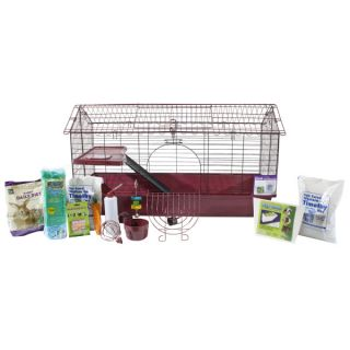 Small Pet Cages, Habitats & Hutches All Living Things™ Deluxe Rabbit Bonus Kit