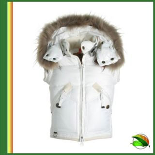 Parajumpers Damen Winter Daunen Weste Bear White Gr. XL