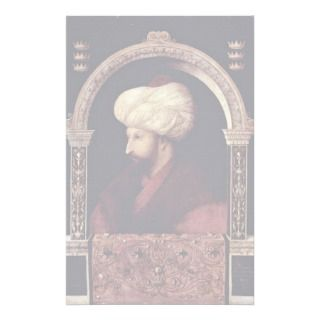 Portrait Of Fatih Sultan Mehmed Ii The Conqueror Personalized