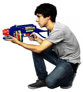 BuzzBee Tommy 20 Dart Blaster / Spielzeug Pistole Gun