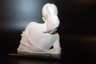 Beautiful Lady Figurine by Emilio Casarotto 1989, Italy