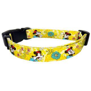 Platinum Pets Disney Minnie Mouse Nylon Collar   Collars   Collars, Harnesses & Leashes