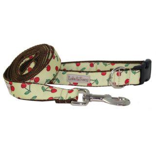 Lola & Foxy Nylon Dog Collars   Lemon Cherry   Collars   Collars, Harnesses & Leashes