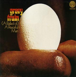 LPGravy Train,(A Ballad Of) A Peaceful Man(RED VINYL) (Repertoire
