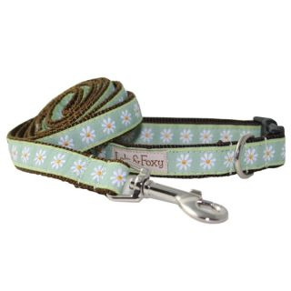 Lola & Foxy Nylon Dog Collars    Sage Daisies   Collars   Collars, Harnesses & Leashes