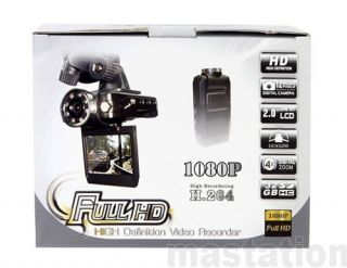 Full HD 1080P Car DVR Cam Recorder Camcorder Vehicle Dashboard Camera