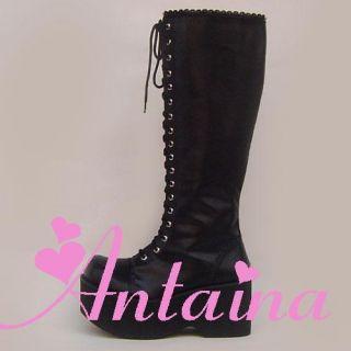 gothic lolita punk stiefel boots Shoes Schuhe Amane Misa death note