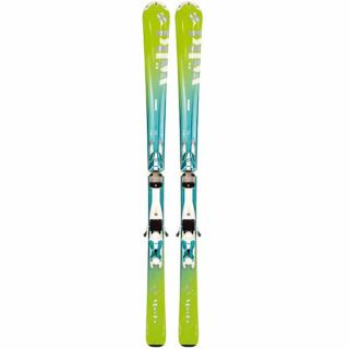 Allmountain Carver Estrella Ski Set mit Bindung 3Motion 10.0