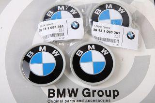 7er X3 X5 Z3 Z4 Original BMW Alufelgen 4 Stück Nabenkappen
