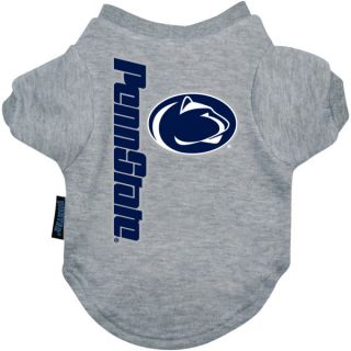Penn State Nittany Lions Logo Pet T Shirt    Clothing & Accessories   Dog