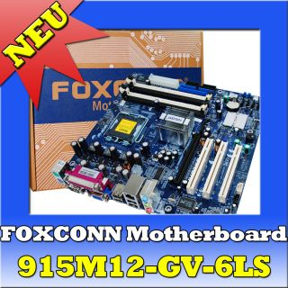 FOXCONN 915M12 GV 6LS Motherboard mainboard Pentium 4