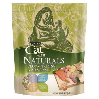 Purina� Cat Chow� Naturals Plus Vitamins and Minerals Cat Food   Food   Cat